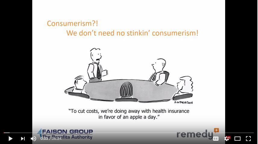 Preview for Remedy consumerism webinar